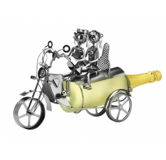 flaschenhalter motorrad aus metall produkte locker b2b. Black Bedroom Furniture Sets. Home Design Ideas