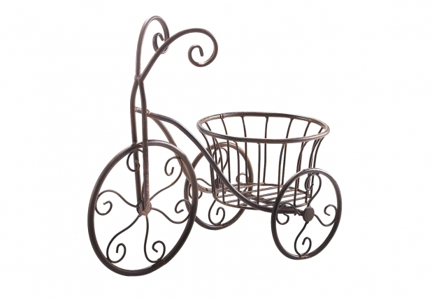 pflanzenst nder fahrrad aus metall produkte locker b2b shop. Black Bedroom Furniture Sets. Home Design Ideas