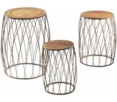 pflanzenst nder aus metall locker b2b shop. Black Bedroom Furniture Sets. Home Design Ideas