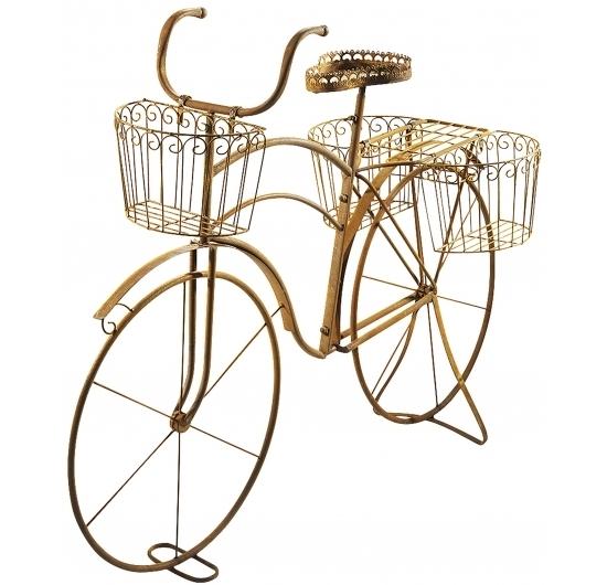 deko fahrrad pflanzenst nder naturrost produkte locker b2b shop. Black Bedroom Furniture Sets. Home Design Ideas