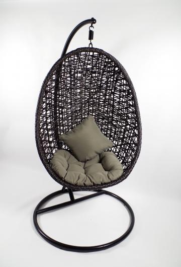 liara h ngekorb poly rattan dunkelbraun komplett set wie. Black Bedroom Furniture Sets. Home Design Ideas